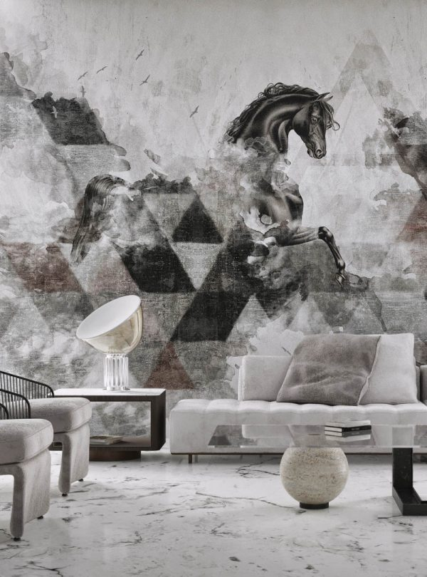 Apollon Cantemporary wallpaper by Idea Murale