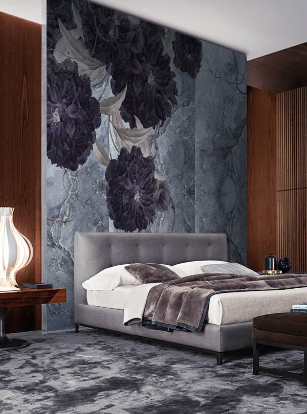 Floral Structures contemporary wallpapers