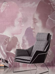 Geisha contemporary wallpapers