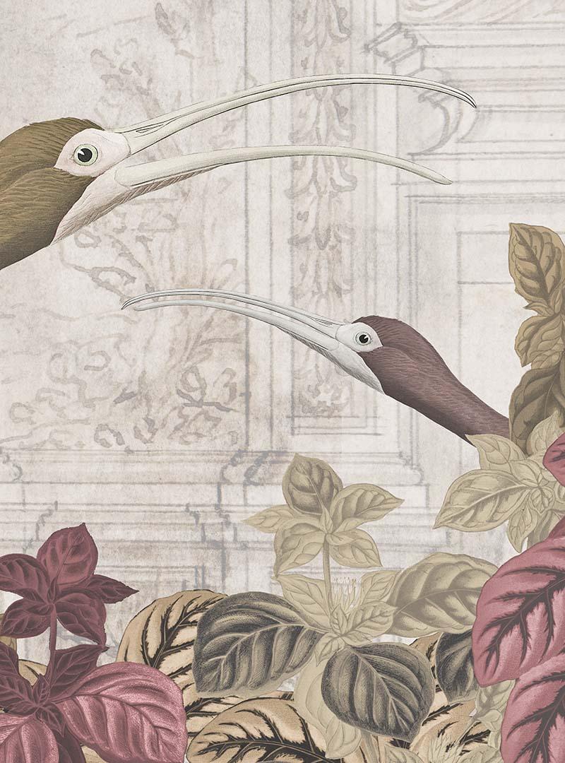 Talking Birds contemporary wallpapers