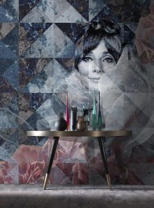 The Smile contemporary wallpapers