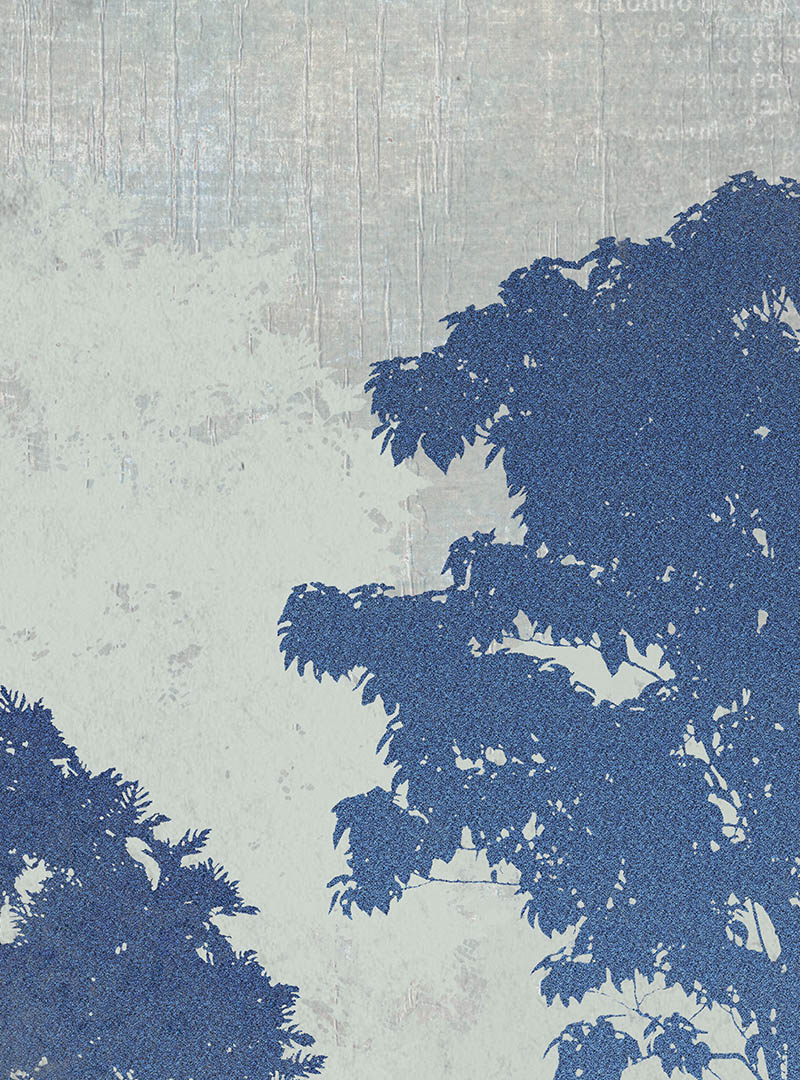Foresta Azul contemporary wallpapers