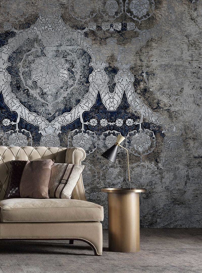 Midcentury Grunge Cantemporary wallpapers