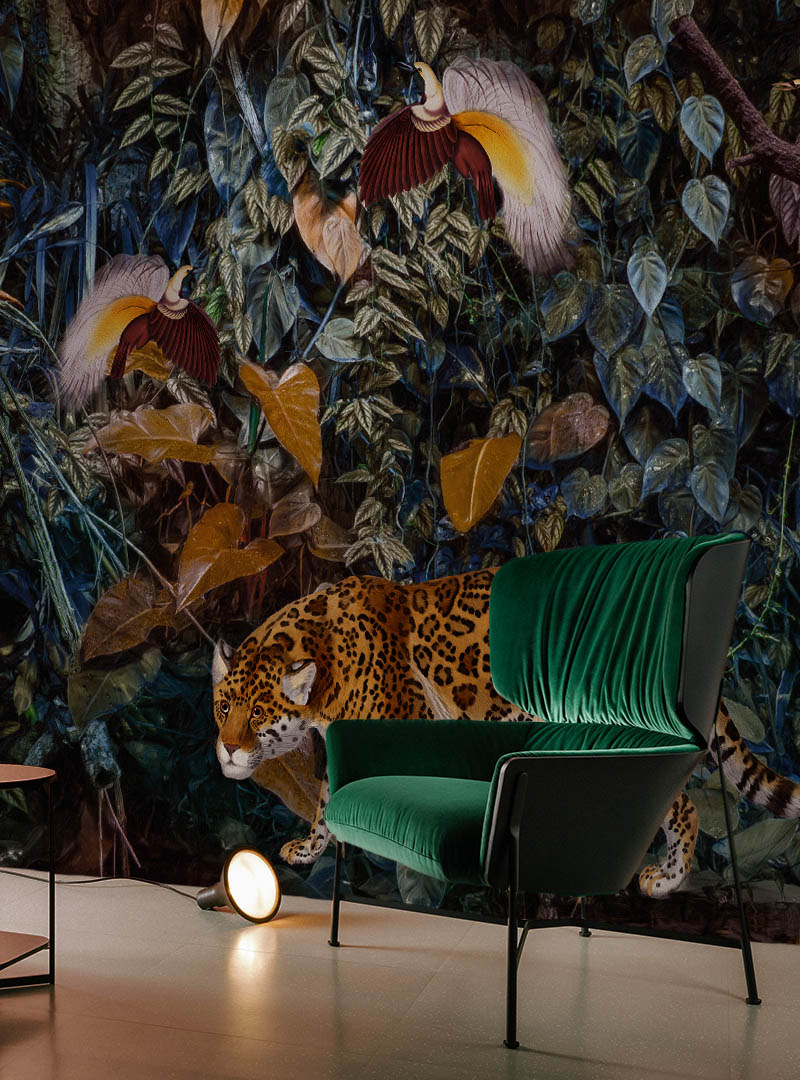 Wild at Heart Contemporary Wallpaper