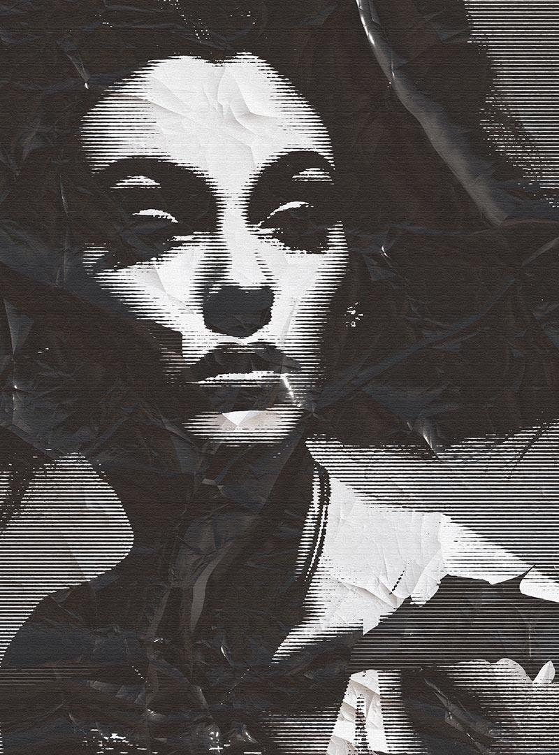 Elle contemporary wallpaper