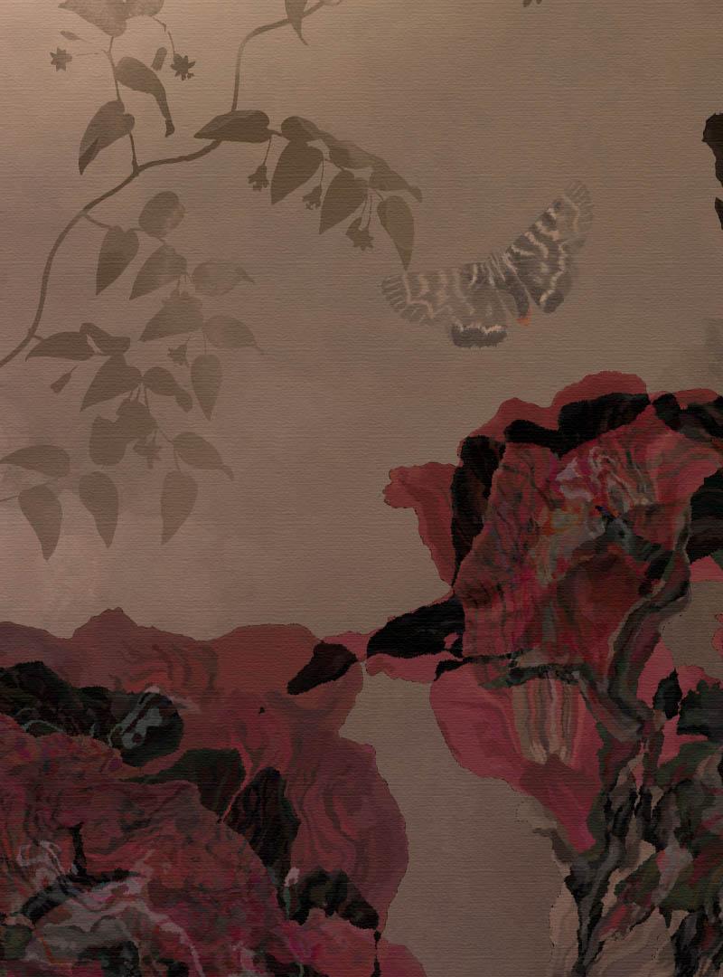 Enigma del Fiore contemporary wallpaper