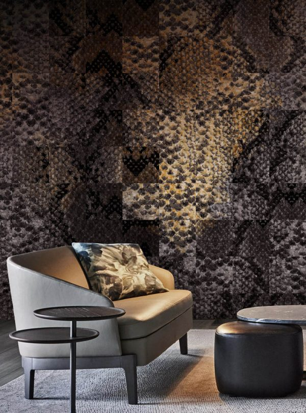 Python Lounge Contemporary Wallpaper