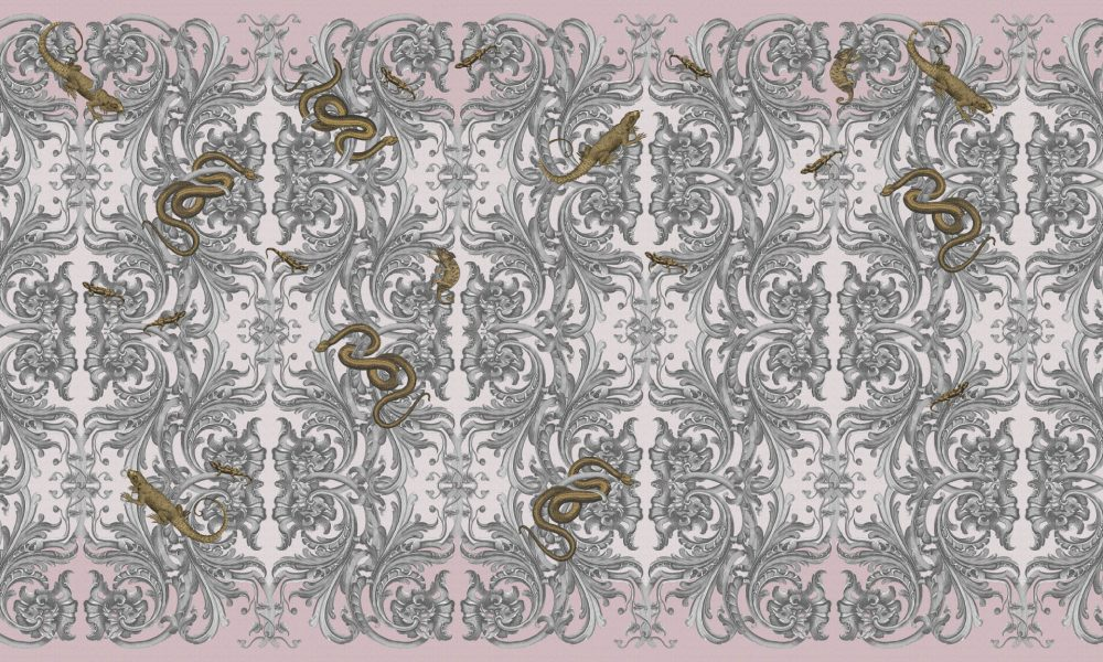 Royal Caprice contemporary Wallpaper by Idea Murale