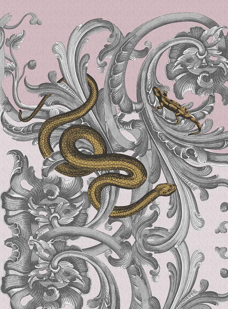 Royal Caprice contemporary Wallpaper