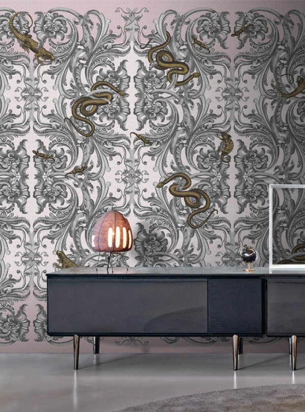 Royal Caprice contemporary wallpaper
