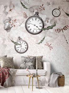 Colourful Bustle modern wallpaper by Idea Murale