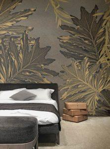 Siren Leaves modern wallpaper