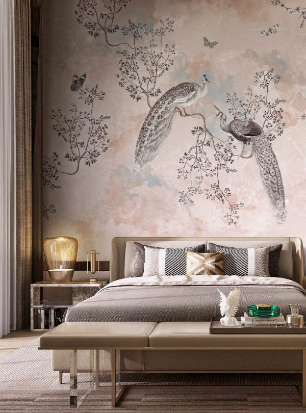 Mudita modern wallpaper from Idea Murale