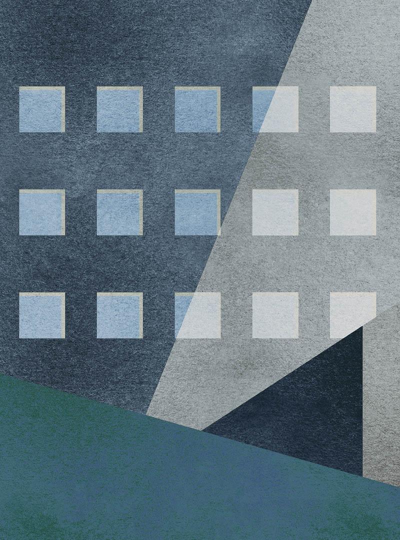 Neometropolis modern wallpaper