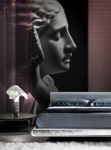 Whisper in the night modern wallpaper by Idea Murale