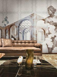Neometropolis II contemporary wallpaper