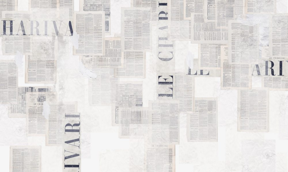 Old News contemporary wallpaper