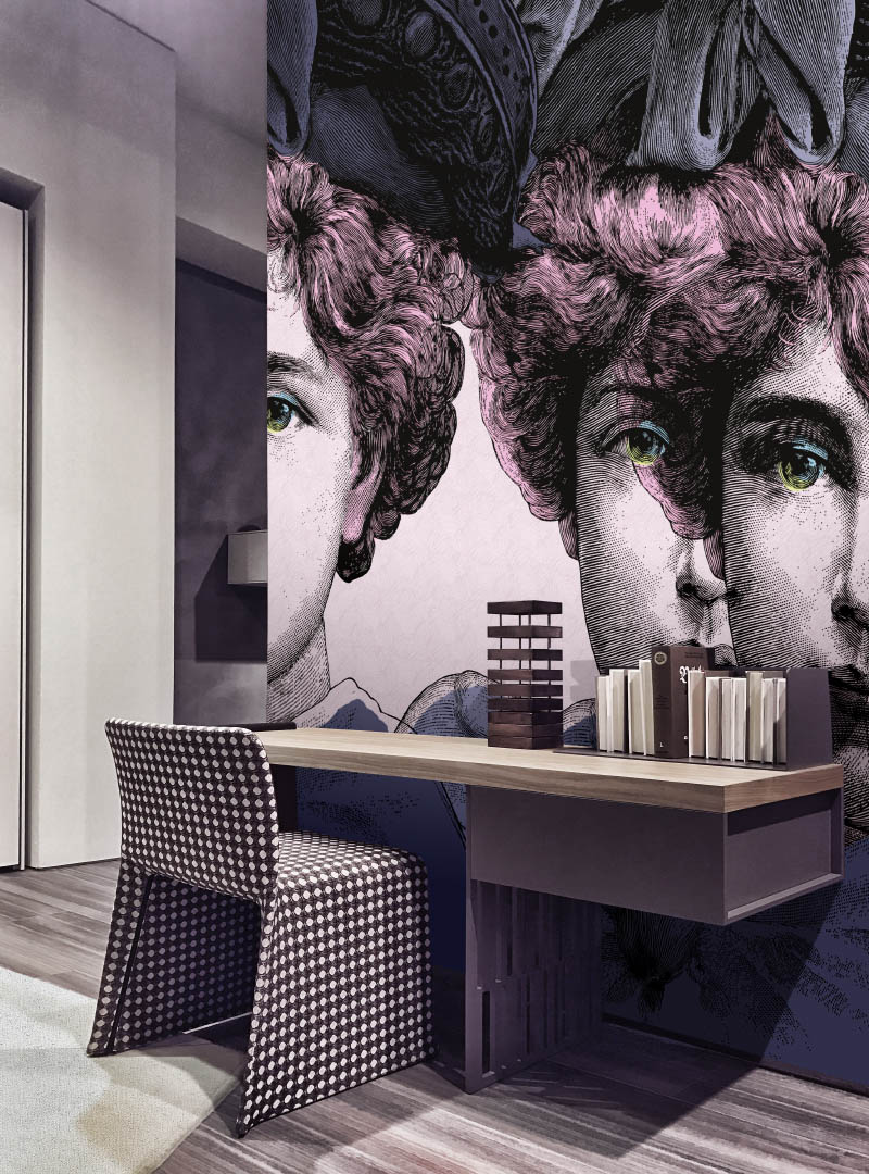 Fantasia contemporary wallpaper by Idea Murale