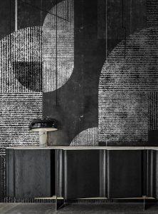 Neo Metropolis III contemporary wallpaper by Idea Murale