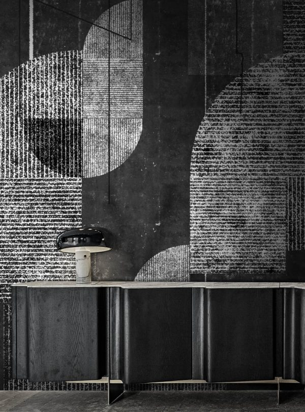 Neo Metropolis III contemporary wallpaper by Idea Murale