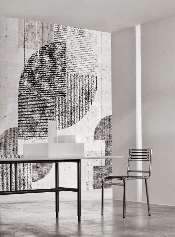 Neo Metropolis III Light contemporary wallpaper by Idea Murale