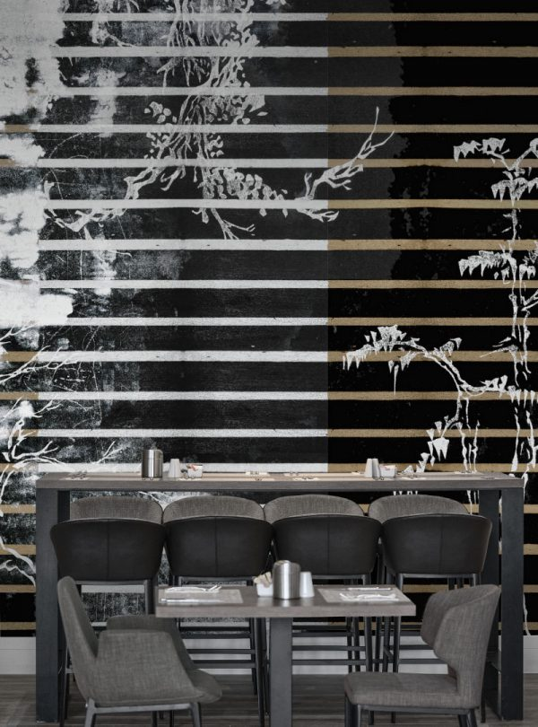 Urban Glitch contemporary wallpaper by Idea Murale