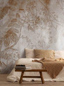 Flora Mistica contemporary wallpaper