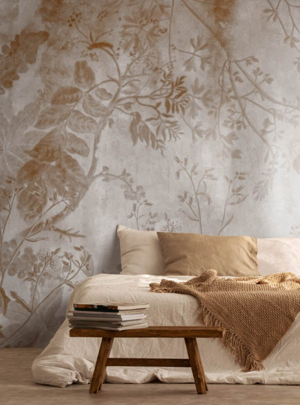 Flora Mistica contemporary wallpaper