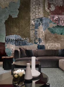 Ethno Echoes modern wallpaper by Idea Murale