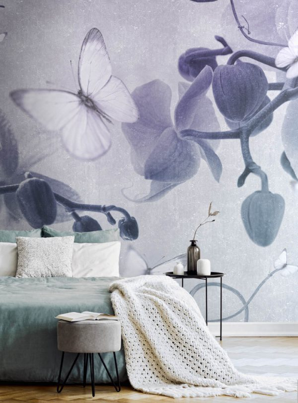 Orchidee Incantevoli contemporary wallpaper