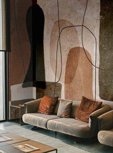 Primordial Forms modern wallpaper
