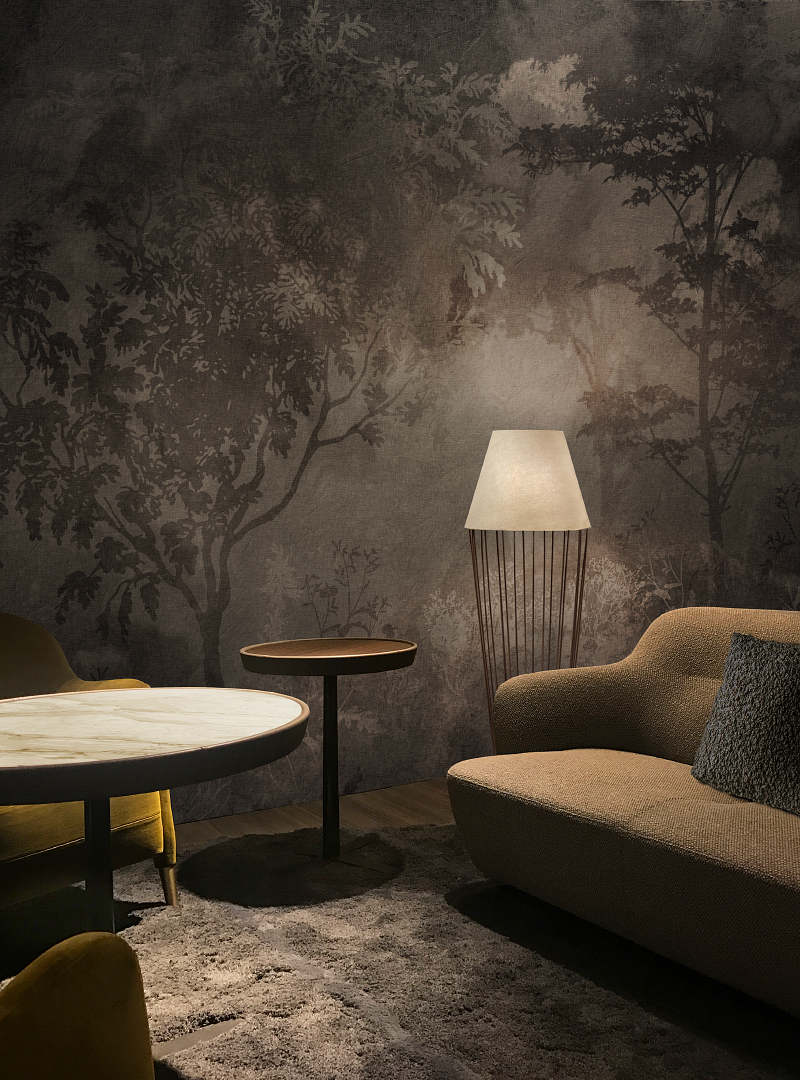 Moments of Serenity contemporary Wallpaper