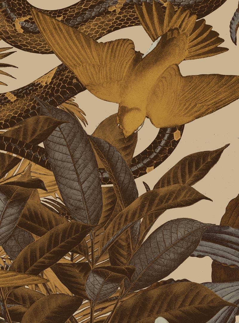 Tema Esotico III contemporary wallpaper