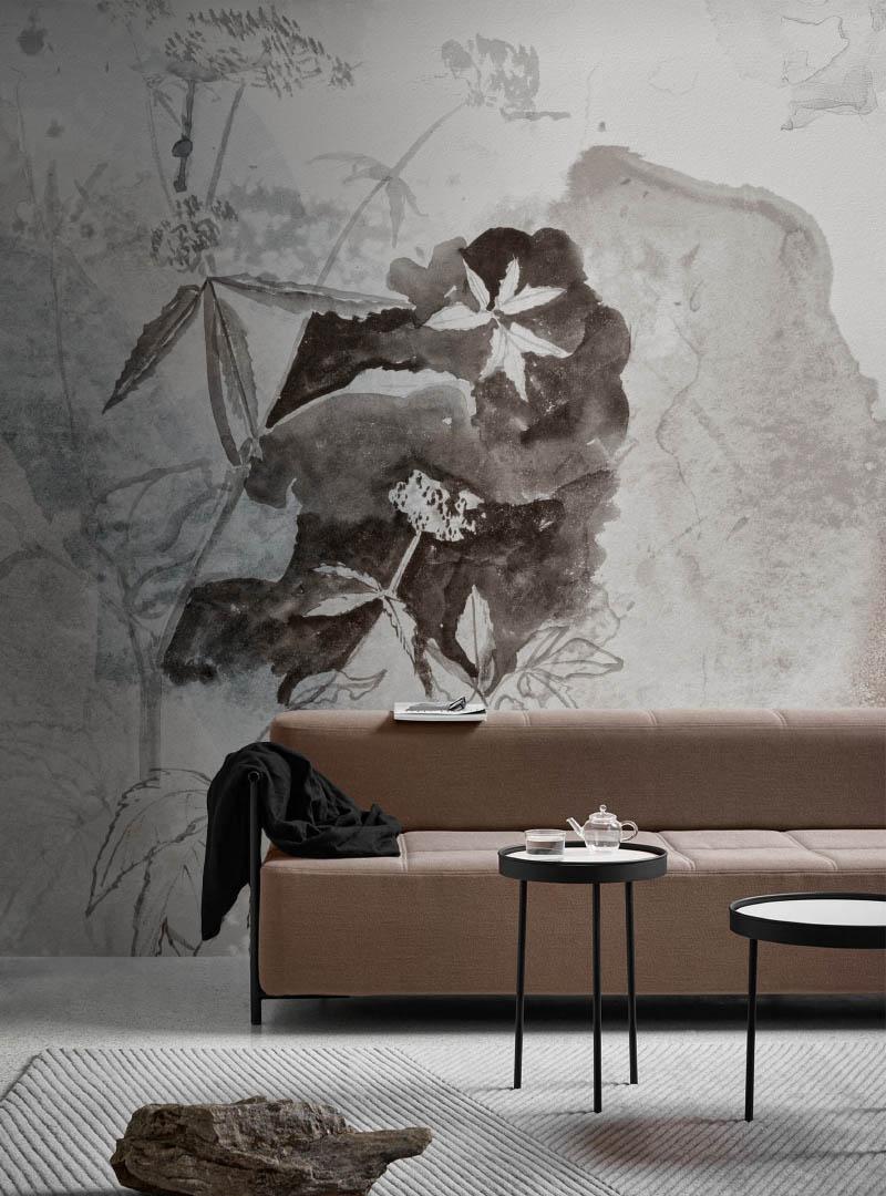 Dalila contemporary wallpaper